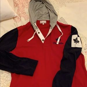 NWOT Canadiana cotton hoodie size Large